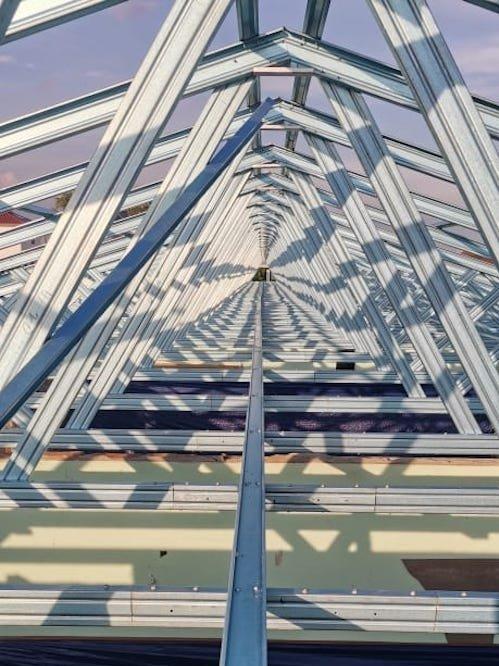 Steel Truss & Roofing Installation @ Ampang