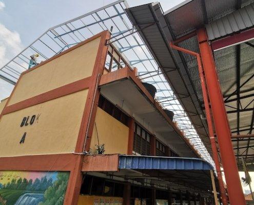 Steel Truss & Roofing Installation @ Petaling Jaya